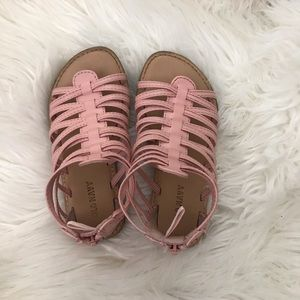 Like New Old Navy Pink Gladiator Sandal